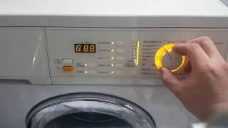 Ich würde gerne wissen wie man bei einer miele waschmaschine w 1000