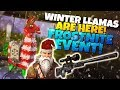 *NEW* WINTER LLAMAS ARE HERE! Frostnite Event | Fortnite STW