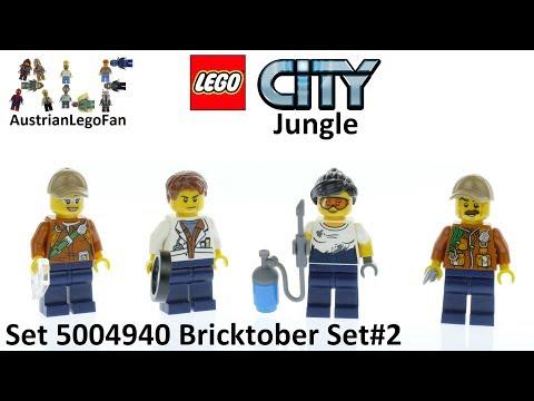 Vidéo LEGO Objets divers 5004940 : Bricktober 2017 LEGO City [Exclusive Minifigures  Toys'R'Us]