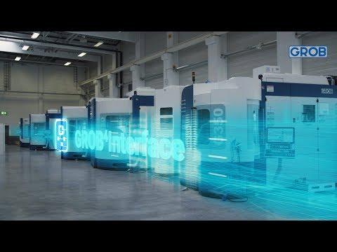GROB-NET4Industry – Transparenz in Ihrem Produktionsprozess