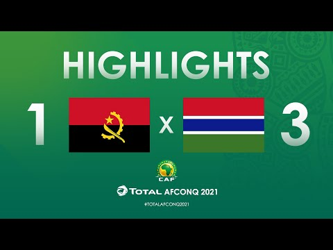 HIGHLIGHTS   #TotalAFCONQ2021   Round 1 - Group D:...