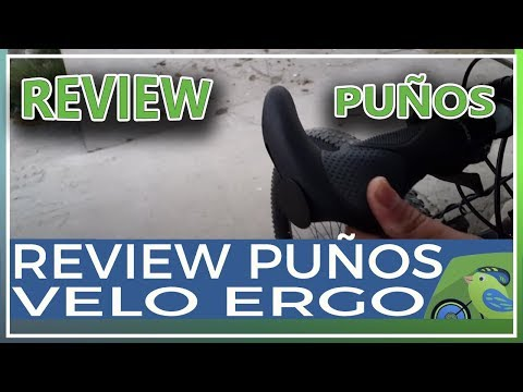 Review puños Velo Ergo New ergonómicos con cuernos para bicicleta