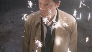 Castiel - In the arms of an Angel