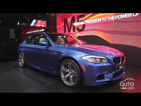 BMW M5 2013 au Salon de l'auto de Détroit