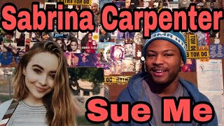 Sabrina Carpenter   Sue Me | Reaction