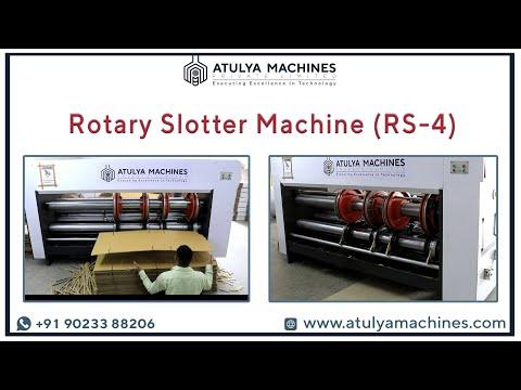 Rotary Creasing & Slotting Machine (RS4)