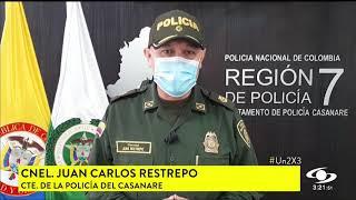 EN CASANARE, CAE PRESUNTO COMERCIANTE DE ARMAS