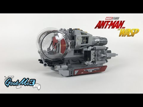 Vidéo LEGO Marvel Super Heroes 76109 : A la découverte de Quantum Realm (Ant-Man and the Wasp)