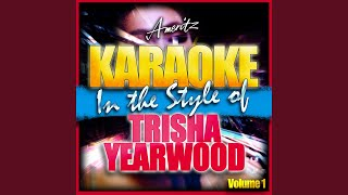 Oh Lonesome You (In the Style of Trisha Yearwood) (Karaoke Version)