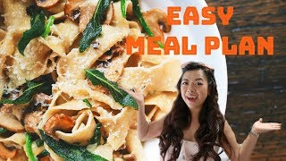 EASY & HEALTHY MEAL PLAN | WHAT I ATE IN A WEEK | Angie Lowis