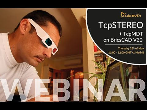 Discover TcpSTEREO + TcpMDT on BricsCAD V20