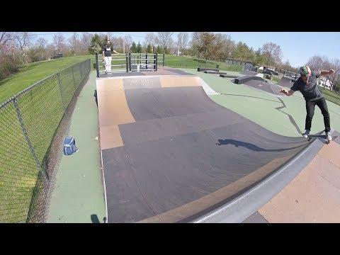 Chatham Skatepark and Gunshots - 43 Year Old Skate Every Day #359