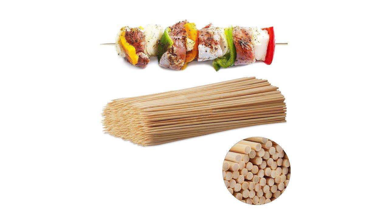 Video von: Schaschlikspieße aus Bambus 500 Stück