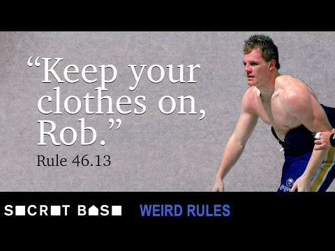 The NHL changed their fight rules to keep Rob Ray's shirt on | Weird Rules