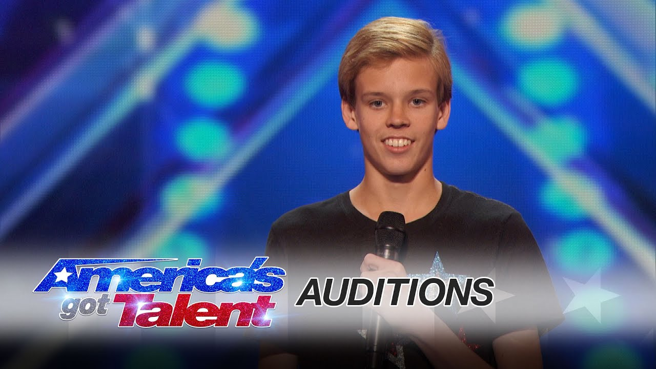 Cody The Twirler: 14-Year-Old Puts a Fun Spin on Baton Twirling - America's Got Talent 2016 thumbnail