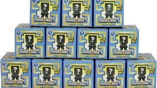 Minecraft Mini Figure Series 12 Greek Mythology Blind Box Full Set Opening with CODES