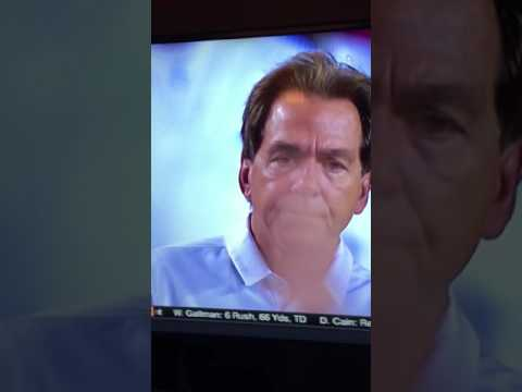 Nick Saban - Saying **** me
