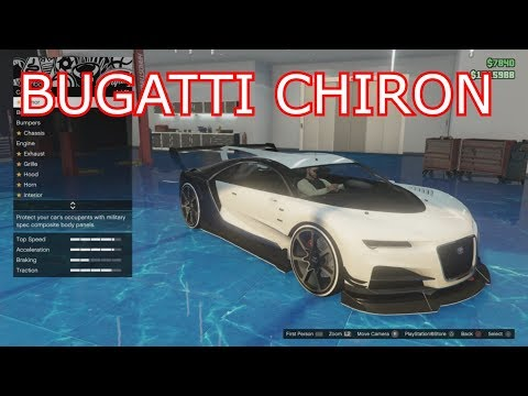GTA 5 Online - The Fastest Bugatti Chiron & Test Drive!