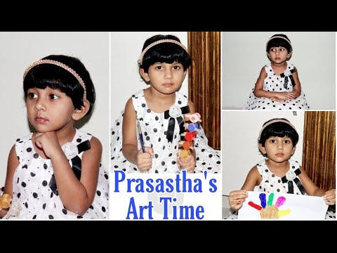 Prasastha's Art Time || Fun with Colors || Prasastha Joanna