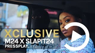 #150 M24 X Slapit24 - Saucy Drillas (Music Video) Prod By LkBeats   Pressplay