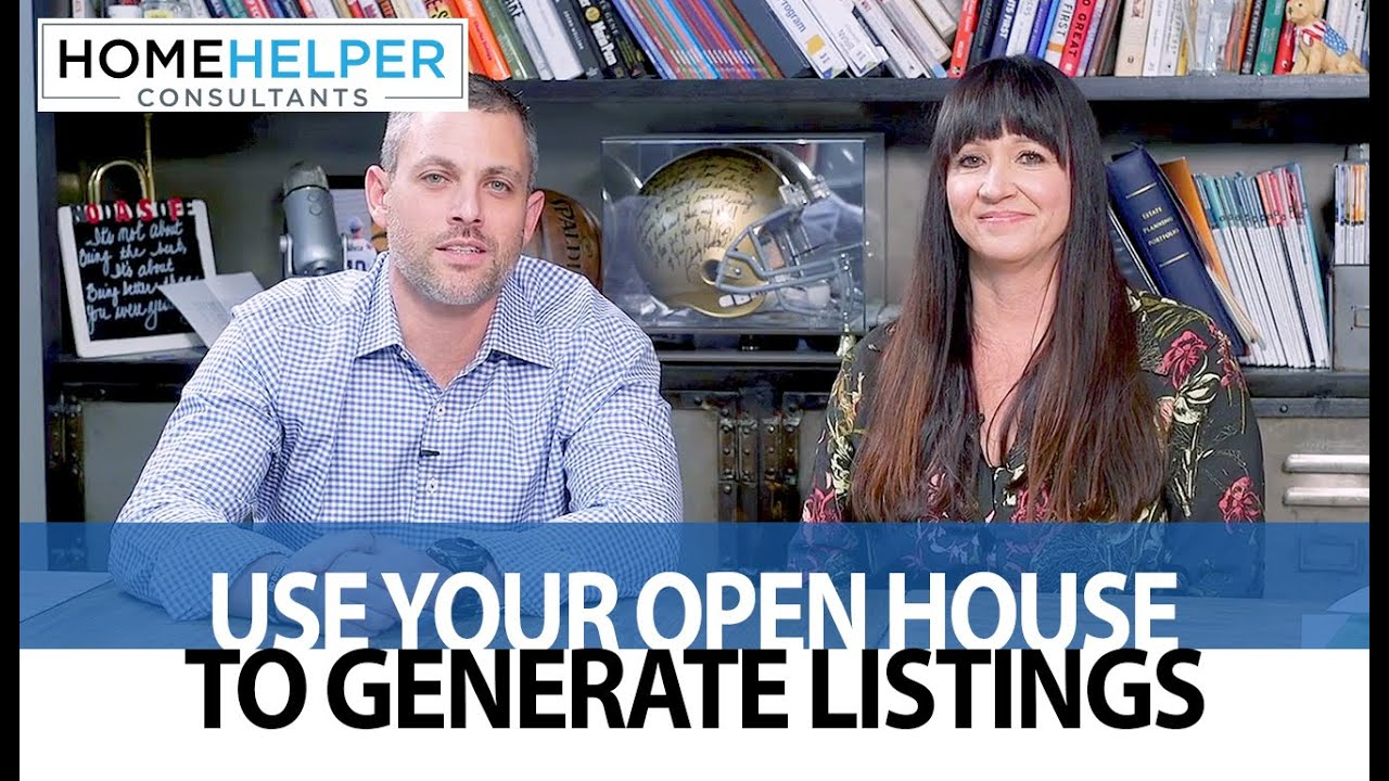 Why You Should Change Your Open House Mindset