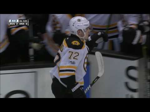 Vatrano snipes one past Bernier after a brilliant pass by Krejci