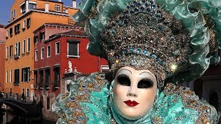 Masquerade Masks, Costumes Highlight Of 2019 Venice Carnival