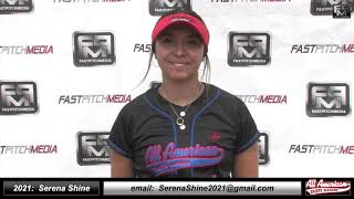 2021 Serena Shine Athletic Slapper, Outfielder Softball Skills Video - AASA 18 Gold - Merridar