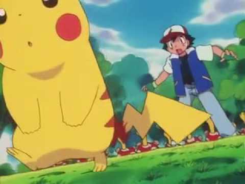 Pikachu falls in love with Jessie Pokemon