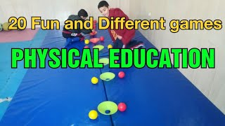 20 Fun Physical Education Games | PE GAMES | Physed Games