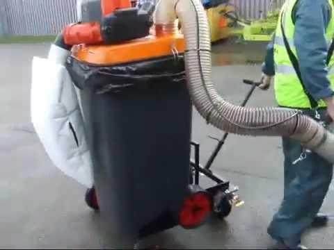 Vakumlu Yaprak ve Çöp Toplayıcı, Overton HV-240, Portatif Süpürücü