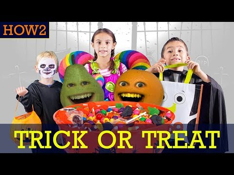 HOW2: How to Trick or Treat #Shocktober