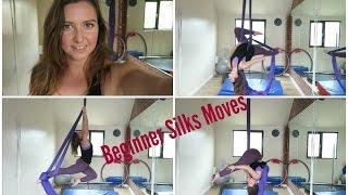 10 Beginner Aerial Silks Moves | UNIQUE AERIALISTS
