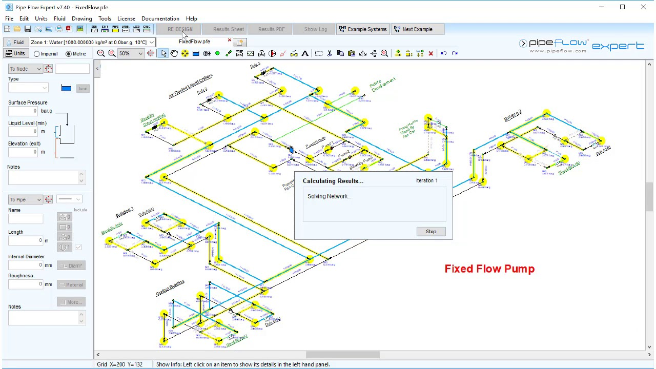 Pipe Flow Software Videos