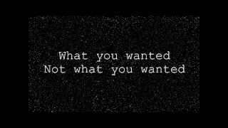What You Wanted-  Spector- Lyric Video