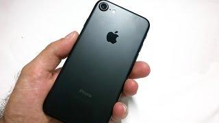 Comprei Um IPhone 7 128GB  Matte Black - Unboxing