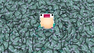 IF THE WHOLE MINECRAFT WORLD WAS FISH...