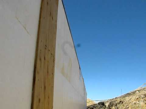 Fox Blocks How to Use Stringline to Plumb Insulated Concrete Form walls