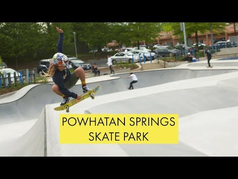 The All-New Powhatan Springs Skate Park