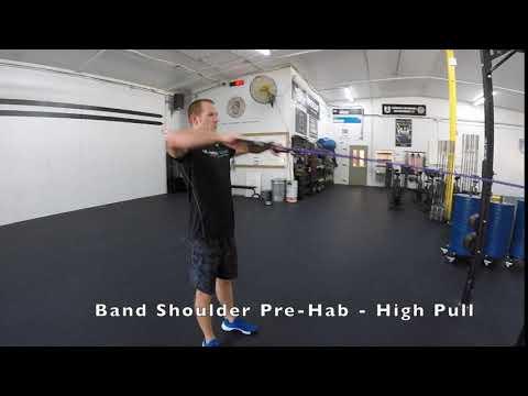Band Shoulder Pre-Hab - High Pull