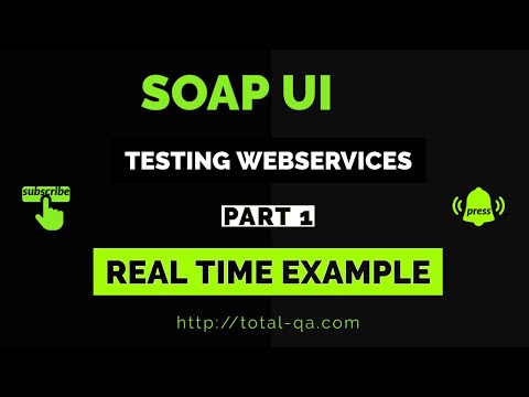 TESTING WEBSERVICES USING SOAP UI   WSDL   SOAP   NATIONAL DIGITAL FORECAST DATABASE