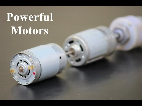 3 Useful Things From DC Motor - Awesome Ideas
