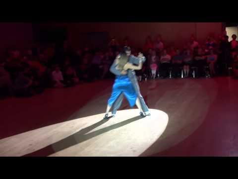 Julia et Andres au Festival Tango 2014,