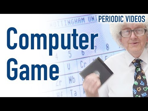 Vintage Chemistry Computer Game – Periodic Table of Videos