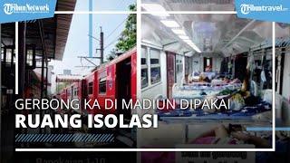 Viral Gerbong Kereta Api di Madiun Dipakai untuk Isolasi Mandiri Pasien Covid-19