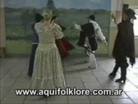 huella danza folclorica: