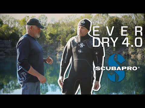 Scubapro Everdry 4 Drysuit Brand New various sizes available