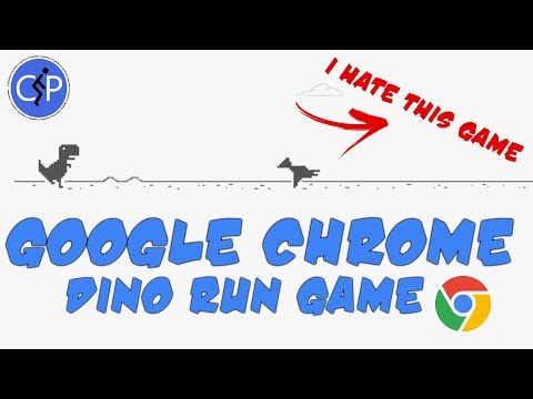 Dino Run Game Unable To Connect To Internet Game On Google