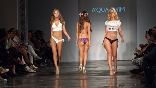 Aqua Swim Wear LA Fashion Show