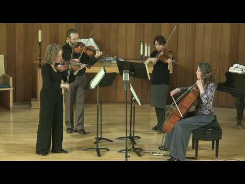 Strathcona String Quartet - Shostakovich String Quartet No. 8 in C minor (part 2 of 3)